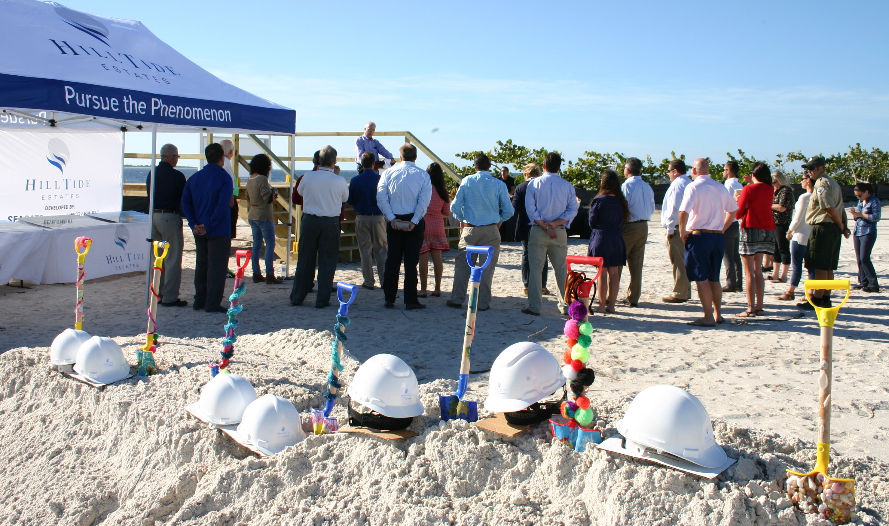 hill tide estates groundbreaking