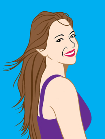 meet christa hoskins illustration