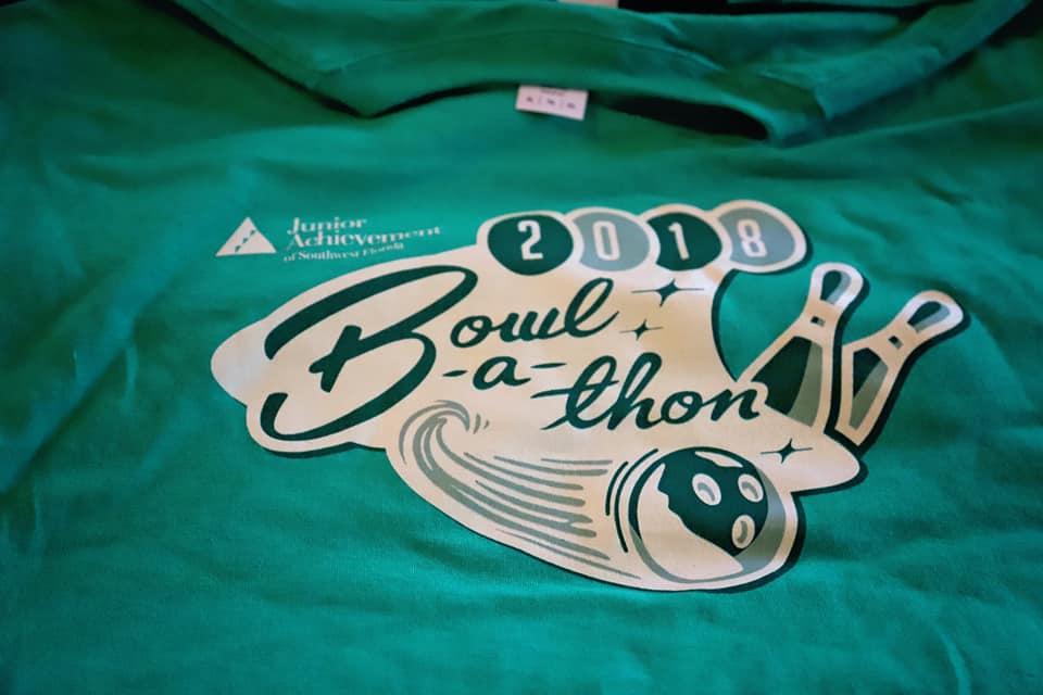 Bowl-A-Thon Tshirt Design