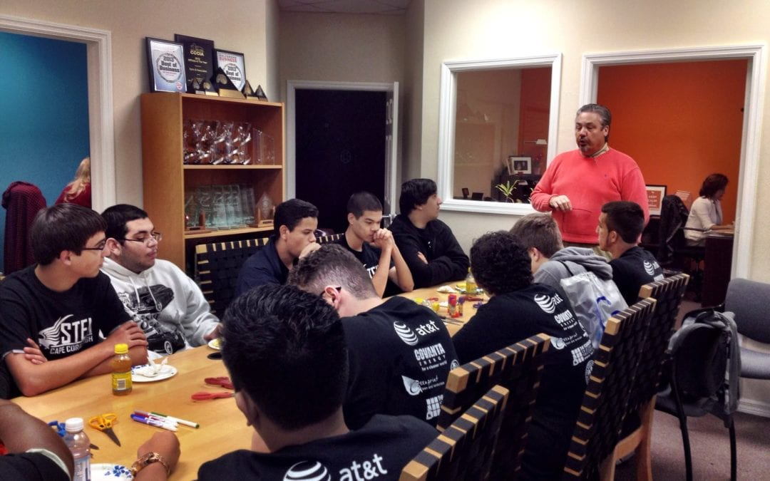 Spiro & Associates Hosts Cape Coral high School STEM Students