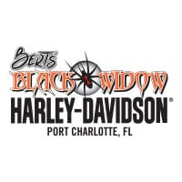 Bert's Black Widow Harley-Davidson