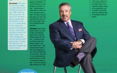 Chris Spiro in Gulfshore Business Magazine August 2016
