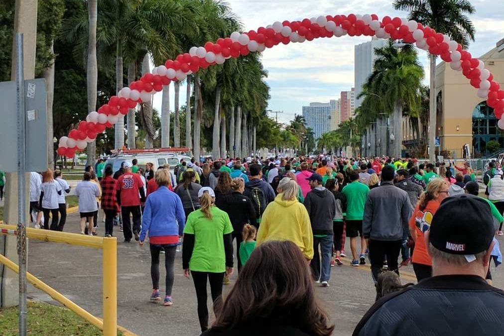 Lee County Heart Walk draws thousands of supporters