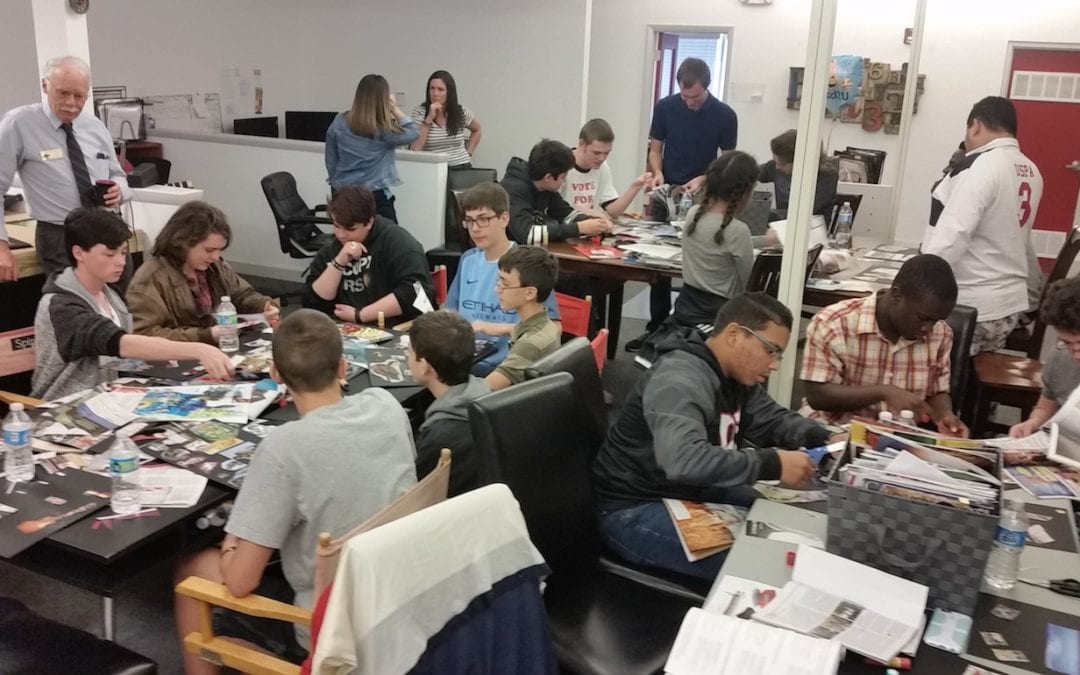 Lee County high school students get branded