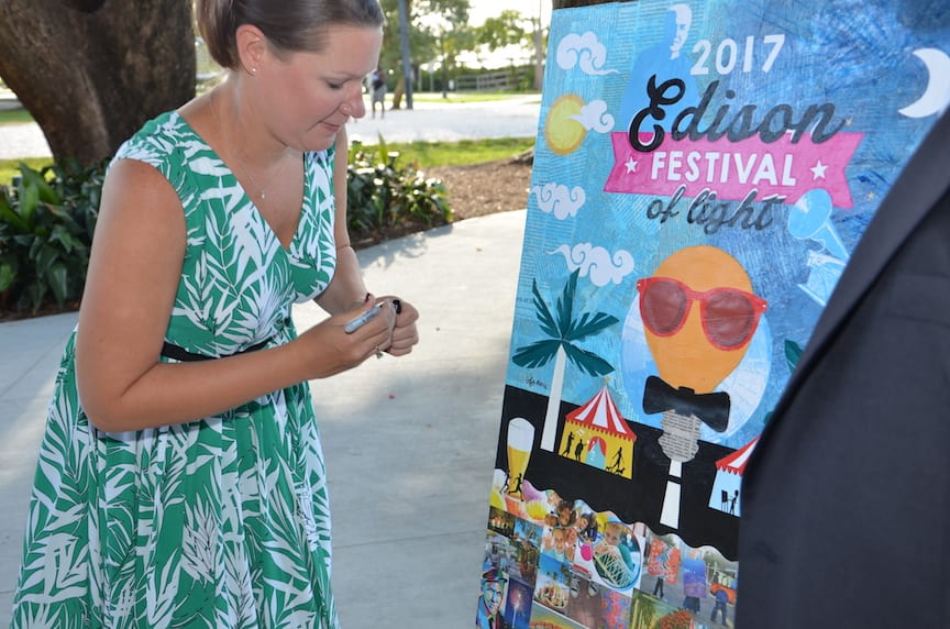 Edison Festival of Light features artwork by Lynsey
