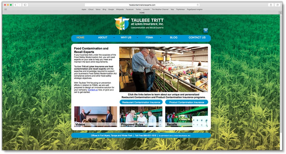 Taulbee Tritt Website Design